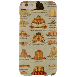 Vintage Dessert Snack Illustration Barely There iPhone 6 Plus Case