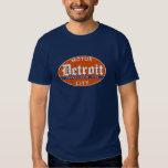 Vintage Detroit (distressed design) Tee Shirts