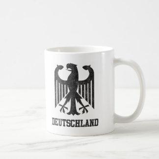 Vintage Deutschland Basic White Mug