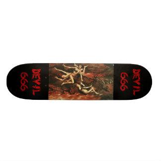 Vintage Devil Skateboard