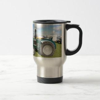 Vintage Diesel Tractor Stainless Steel Travel Mug