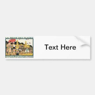 Vintage Dinard Holland Bumper Sticker
