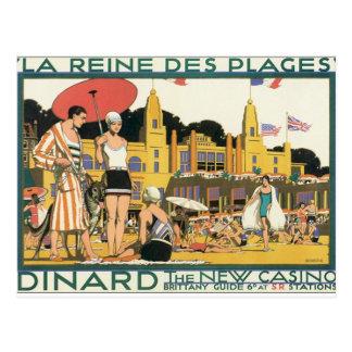 Vintage Dinard Holland Postcard