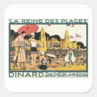 Vintage Dinard Holland Sticker