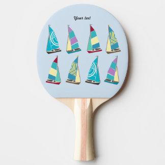 Vintage Dinghies Ping Pong Paddle
