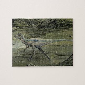 Vintage Dinosaurs, a Cretaceous Hypsilophodon Jigsaw Puzzle