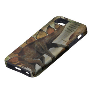 Vintage Dinosaurs, Stegosaurus, Tail with Spikes iPhone 5 Cases