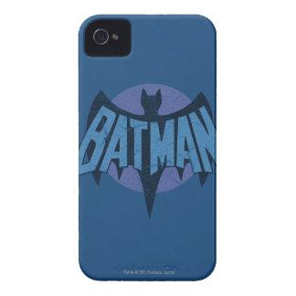 Vintage Distressed Bat Symbol iPhone 4 Cases