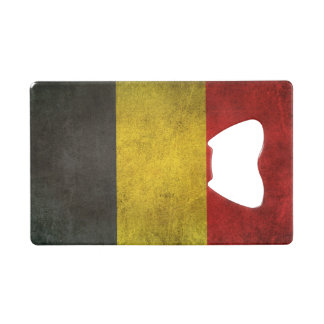 Vintage Distressed Flag of Belgium