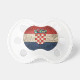 Vintage Distressed Flag of Croatia Dummy