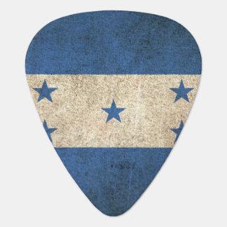 Vintage Distressed Flag of Honduras Guitar Pick