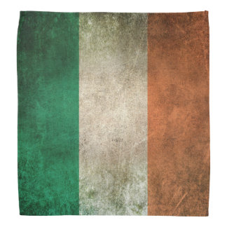Vintage Distressed Flag of Ireland Bandana