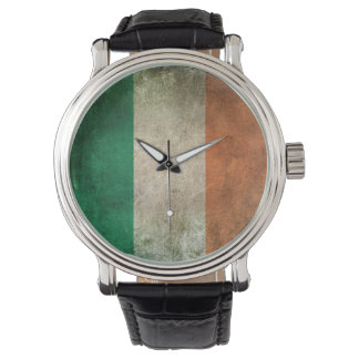 Vintage Distressed Flag of Ireland Watch