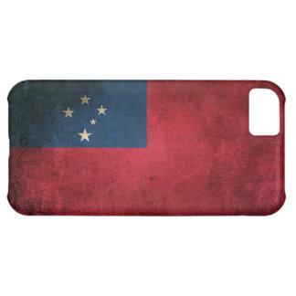 Vintage Distressed Flag of Samoa iPhone 5C Case