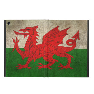 Vintage Distressed Flag of Wales iPad Air Cover