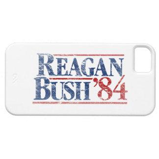 Vintage Distressed Reagan Bush '84 iPhone 5 Covers