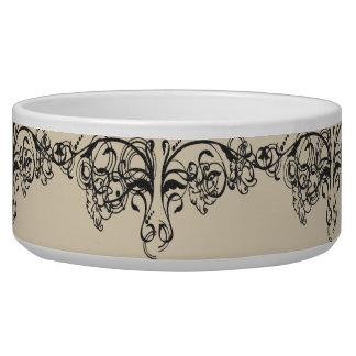 Vintage-Diva-Classic_Cream Pet Food Bowls