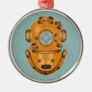 Vintage Diving Bell Christmas Ornament