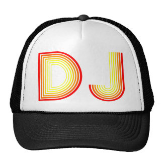 vintage DJ Mesh Hat