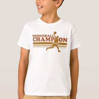 Vintage Dodgeball Champion Kids T-Shirt