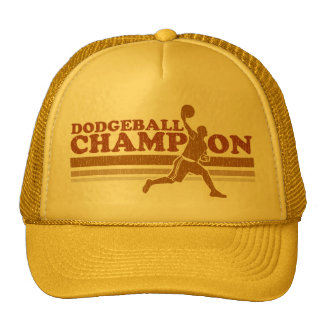Vintage Dodgeball Champion Trucker Hat