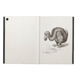 Vintage Dodo Bird Antique Bird Template iPad Air Case