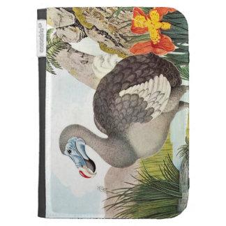 Vintage Dodo Bird Art Kindle 3G Cover