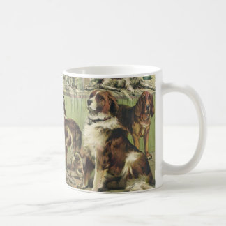 Vintage dog show coffee mug