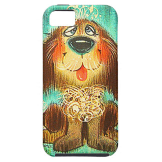 Vintage doggie iPhone 5 cover