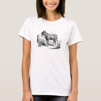 Vintage Domestic Donkey Personalized Retro Donkeys T-Shirt