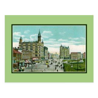 Vintage Donegall Square North Belfast Postcard