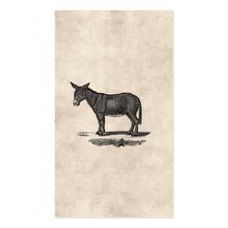 Vintage Donkey Illustration -1800's Donkeys Pack Of Standard Business Cards
