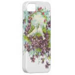 Vintage Doves & Flowers iPhone 5 Cover