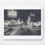 Vintage Downtown Las Vegas Mouse Pads