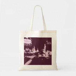 Vintage Downtown Las Vegas Tote Bag