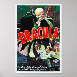 Vintage Dracula Poster