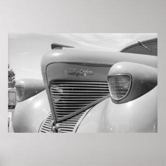 Vintage Drag - 1939 Willys Poster