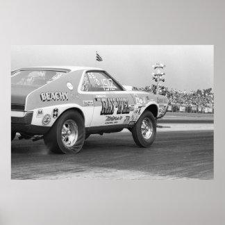 Vintage Drag - AMX Super Stock Poster
