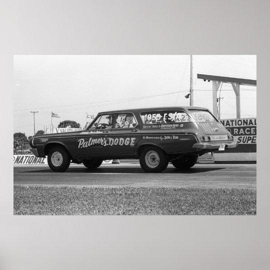 Vintage Drag Racing - 1964 Dodge 330 Wagon
