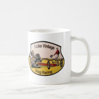 Vintage Drag Racing Coffee Mug