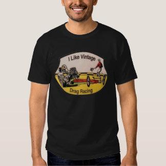 Vintage Drag Racing Tee Shirt