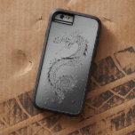 Vintage Dragon Brushed Metal Look Tough Xtreme iPhone 6 Case