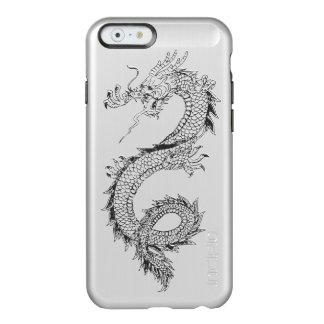 Vintage Dragon Brushed Metal Incipio Feather® Shine iPhone 6 Case