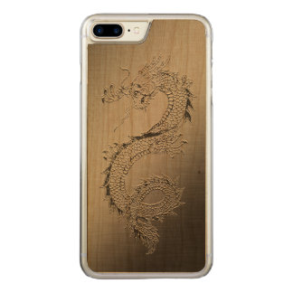 Vintage Dragon Carved iPhone 8 Plus/7 Plus Case