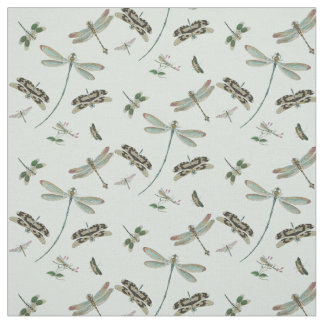 Vintage Dragonflies Fabric