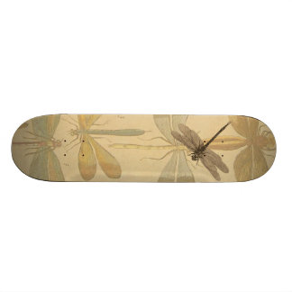 Vintage dragonfly drawing 21.6 cm old school skateboard deck