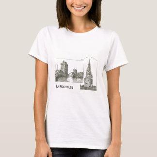 Vintage drawing, La Rochelle T-Shirt