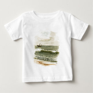 Vintage Drawing: Ocean View Baby T-Shirt