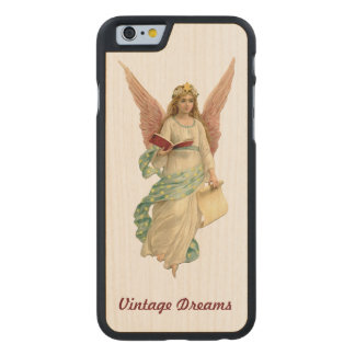 """Vintage Dreams"" - Our Angel Carved® Maple iPhone 6 Slim Case"
