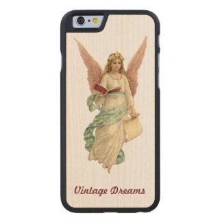 """Vintage Dreams"" - Our Angel Carved® Maple iPhone 6 Slim Case"